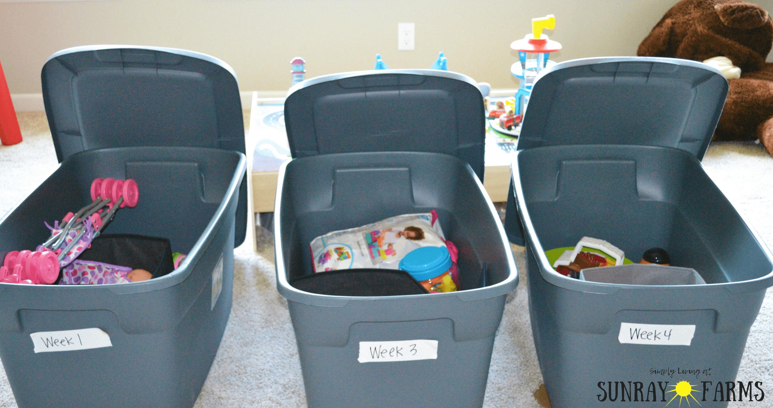 toy rotation, organization, toy organization, playroom