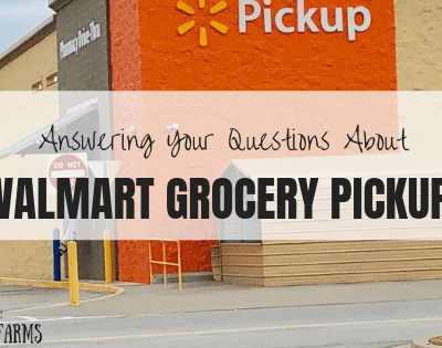 Answering Your Questions About Walmart Grocery Pickup
