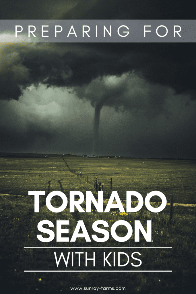 Tornado season can get extra nerve-wracking when you throw kids in the mix.  Here are some tried and true tips to keep your family safe during tornado season.